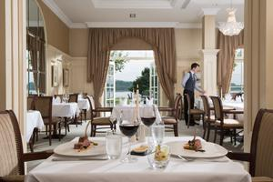 Flawless service: Catalina dining room at the Lough Erne Resort in Fermanagh