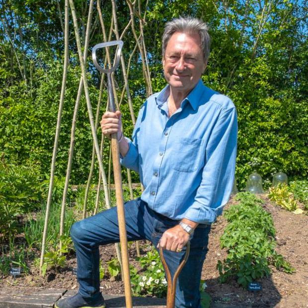 Alan Titchmarsh is back with a new gardening show