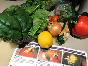 Produce from the vending machine