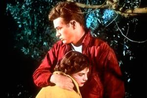 Wood alongside James Dean in Rebel Without A Cause