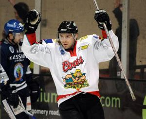 Paul Deniset was the Belfast Giants' top goalscorer and Player of the Year during the 2008-09 season