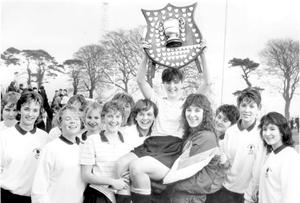 Methodist College Belfast- Senior schools hockey final winners, 1983.