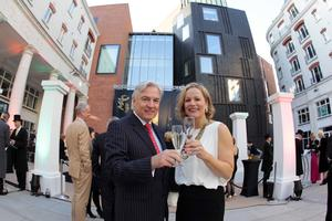 Anne McReynolds Chief Executive of the MAC is pictured ahead of the final countdown with and Len O'Hagan, chairman of the MAC