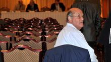 Billy McIlroy, one of the men behind Dunloy FC's proposals to shake up local football, was a man alone last night as their proposals fell at the IFA's extraordinary general meeting