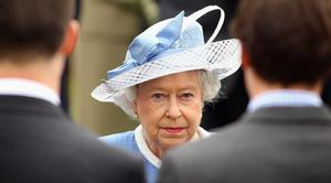 The Queen visits the Irish National Stud in County Kildare on May 19, 2011 in Kildare, Ireland.