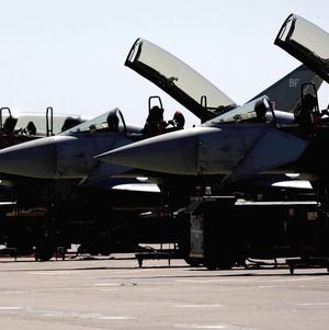 Typhoon pilots are being grounded because of shortages of aircraft spares, says report