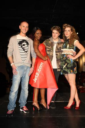 Belfast Metropolitan College Fashion and Design Students hosted the first ever fashion show at the iconic Titanic Signature Building