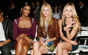 """<b>The Belfast Telegraph Fashion and Glamour Gallery - from the catwalks of Belfast to Milan and New York</b> Models Cecily Lopez, Anna Soukupova and  Candice Swanepoel attend the 7th Annual """"Jeffrey Fashion Cares"""" at the Intrepid Aircraft Carrier on March 22, 2010 in New York City."""