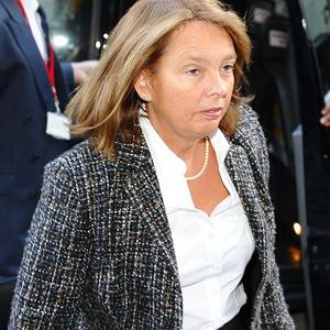 Wendy Chapman, former doctor at Harlequins Rugby Club, arriving the General Medical Council hearing