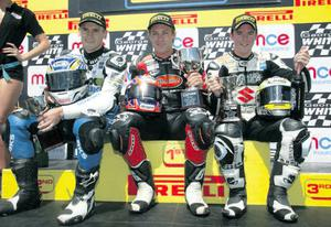 Josh Brookes, Tommy Hill and Alastair Seeley