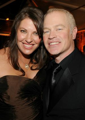 BEVERLY HILLS, CA - JANUARY 16:  Actor Neal McDonough (R) and Ruve Robertson attend Relativity Media and The Weinstein Company's 2011 Golden Globe Awards After Party presented by Marie Claire held at The Beverly Hilton hotel on January 16, 2011 in Beverly Hills, California.  (Photo by Frazer Harrison/Getty Images for Relativity Media)