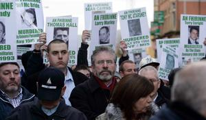 Images from The Royal Irish Regiment's homecoming parade in Belfast, Sunday, November 2, 2008.