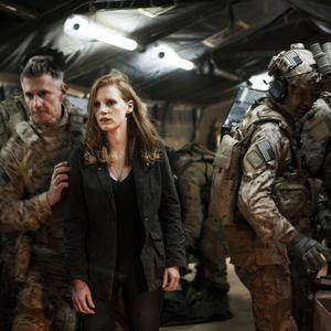 Jessica Chastain stars in Zero Dark Thirty, a film about the hunt for Osama bin Laden