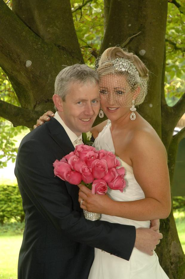 """Samantha Convery & Barry Convery <p><b>To send us your Wedding Pics <a  href=""""http://www.belfasttelegraph.co.uk/usersubmission/the-belfast-telegraph-wants-to-hear-from-you-13927437.html"""" title=""""Click here to send your pics to Belfast Telegraph"""">Click here</a> </a></p></b>"""