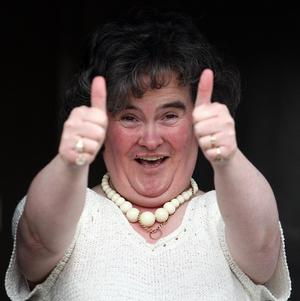 Susan Boyle says singing for the Pope is beyond her wildest dreams