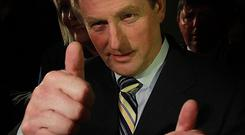 Enda Kenny is beginning behind-the-scenes negotiations to form the next government