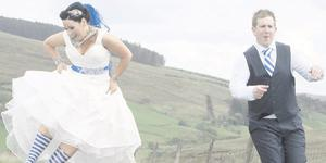 """The wedding of Louise McKenna and Mark McElhatton <p><b>To send us your Wedding Pics <a  href=""""http://www.belfasttelegraph.co.uk/usersubmission/the-belfast-telegraph-wants-to-hear-from-you-13927437.html"""" title=""""Click here to send your pics to Belfast Telegraph"""">Click here</a> </a></p></b>"""