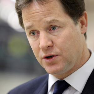 Nick Clegg wants the 10,000 pounds personal tax allowance introduced earlier than planned