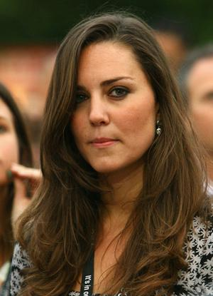 LONDON - JUNE 27:  Kate Middleton attends the 46664 Concert In Celebration Of Nelson Mandela's Life held at Hyde Park on June 27, 2008 in London, England.  (Photo by Gareth Cattermole/Getty Images)