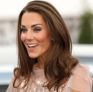 The Duchess of Cambridge arrives at the 10th annual Ark gala dinner at Kensington Palace
