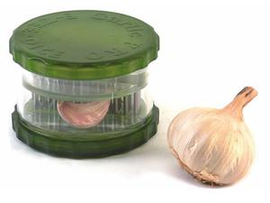 <b>9. Easy Twist Garlic slicer £7.99, kitchenarts.co.uk</b>  Twenty stainless steel blades cut garlic into small cuboids. Because it cuts rather than crushes, the oil and juice stay inside the garlic.