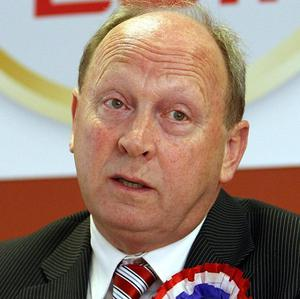 Traditional Unionist Voice leader Jim Allister has been elected in North Antrim