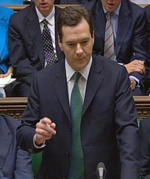 Chancellor of the Exchequer George Osborne delivers his emergency budget in the House of Commons, Westminster, central London