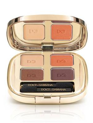<b>10. Eye Shadow Quad in Cocoa</b><br/> £36.50, Dolce & Gabbana, harrods.com The biscuity shades in the palette look good enough to eat, and even better when applied with a delicate touch.