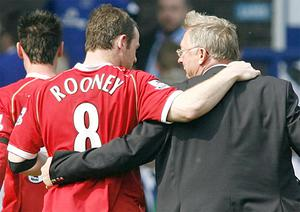 Manchester United manager Sir Alex Ferguson told Wayne Rooney he was in danger of making the biggest mistake of his professional life in leaving the club