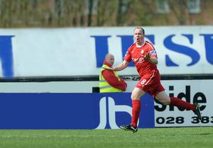 Portadown midfielder Richard Clarke is now looking forward to playing again for Ronnie McFall's side after recovering from cancer