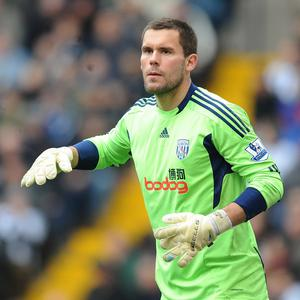 Ben Foster has signed an initial three-year contract at West Brom