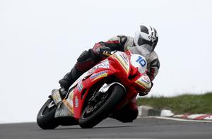 Supersport 600 Michael Dunlop rider pictured at the second practice on the North coast circuit at the Relentless International North West 200