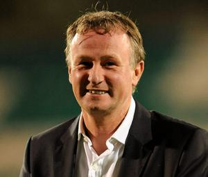 Back him: Michael O'Neill will get support from fans