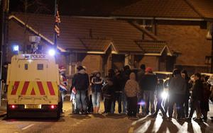 Loyalist hold protests around the village area in south Belfast
