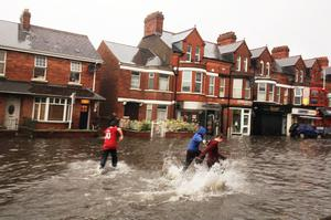Lisburn Road flooding, Belfast 2012