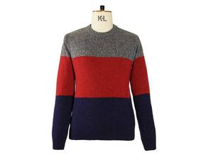 <b>3. Oliver Spencer, £129, oliverspencer.com</b>  This is the ideal sweater for your downtime. Made from a lambswool blend, this three-panel knit of red, blue and grey is easy on the eye. Layer with a T-shirt and a raincoat. .