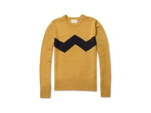 <b>5. Michael Bastian, £565, mrporter.com</b>  Michael Bastian is a New York-based designer whose raison d'etre is American East Coast style. So it's a little surprising that this yellow crewneck with a chevron stripe is inspired by the cartoon character Charlie Brown. However, as it's made from the finest Italian cashmere, it'll cost you more than peanuts.