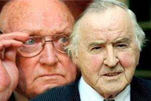 Gusty Spence held talks with Bertie Reynolds