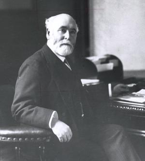 Lord Pirrie, the former head of Harland & Wolff and instigator of the Olympic Class liners constructed on the Queen's Island almost 100 years ago.