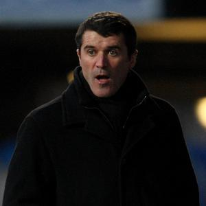 Roy Keane (pictured) has had his achievements as a manager questioned by Giovanni Trapattoni