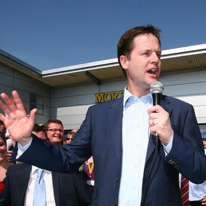 David Cameron said Nick Clegg wanted to 'hold the country to ransom'
