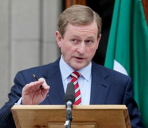 Enda Kenny's government has been criticised