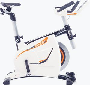 """<b>Ergo Race</b><br/> Too nervous to ride the mean streets for real? This hi-tech racer hooks up to a plasma TV and uses """"Tour Concept"""" software (£145) to give sitting-room cyclists a host of virtual tracks, including the Tour de France route, to test themselves against. <br/> <b>Price:</b> £1,175 www.kettlerdirect.com"""