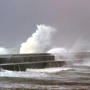 Residents are being warned that storms are heading for the coast