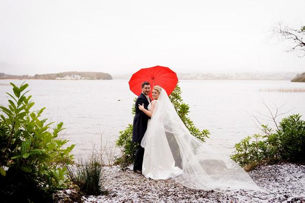 """Ciara Cunningham from South Down recently Married Daniel Grant from Warkworth, New Zealand at Lough Eske, Co.Donegal on 18 Feb 2012.  <p><b>To send us your Wedding Pics <a  href=""""http://www.belfasttelegraph.co.uk/usersubmission/the-belfast-telegraph-wants-to-hear-from-you-13927437.html"""" title=""""Click here to send your pics to Belfast Telegraph"""">Click here</a> </a></p></b>"""