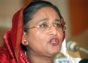 <b>Sheikh Hasina Wajed - Prime Minister of Bangladesh </b><br/> Sheikh Hasina Wajed has twice been elected prime minister of Bangladesh. Having first held the office between 1996 and 2001, she and the Bangladesh Awami League regained power in the 2008 parliamentary elections. Her early life was shattered by the massacre of her mother, brothers and other family members by the Bangladesh Army during a coup in 1975, after which she took refuge in Britain and later New Delhi. She returned to Bangladesh from exile in 1981, having been elected president of the Awami League while still abroad. While Bangladesh's president is technically head of state, it is largely a ceremonial role and, as prime minister, Wajed is responsible for the day-to-day running of the country.