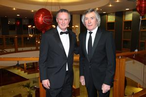 Michael ONeill and Pat Jennings