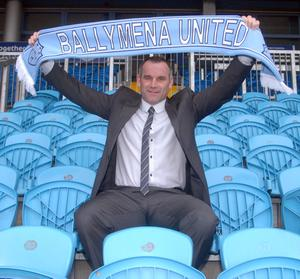 Glenn Ferguson has been unveiled as Ballymena United's new manager