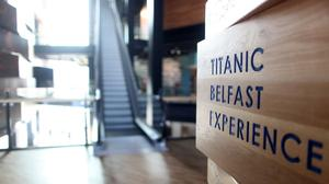 Tthe Titanic Belfast Signature Building which opens to the public on Saturday 31st March.