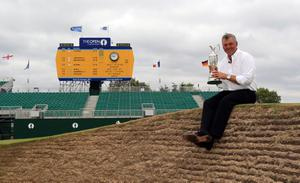 The Open won by Darren Clarke was of huge value to the county of Kent this year